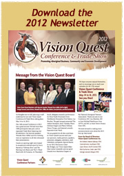 Download the 2012 Vision Quest Newsletter