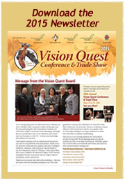 Download the 2015 Vision Quest Newsletter