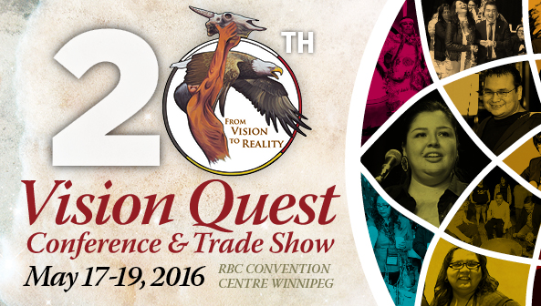 Vision Quest Conferences 20th Anniversary Banner
